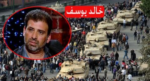خالد يوسف : التلفزيون المصري يروج لشائعات ستؤدي الى كارثة